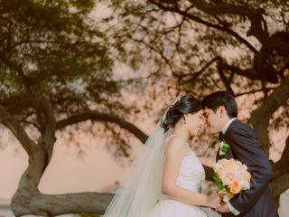 El matrimonio de Alicia y Gino