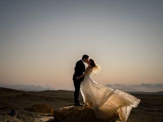 El matrimonio de Lizeth y Robert