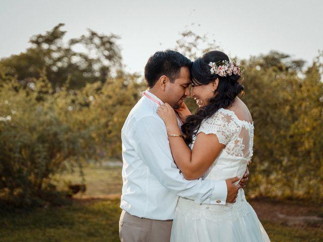El matrimonio de Lilyana y José