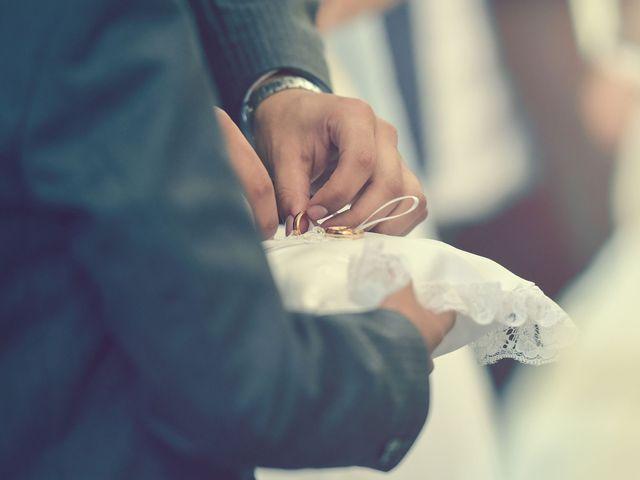 El matrimonio de Carla y Omar