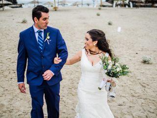 El matrimonio de Talia y Luis