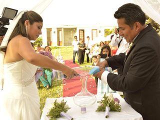 El matrimonio de Miguel y Katherine