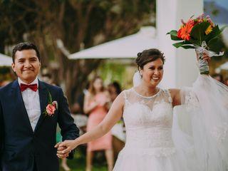 El matrimonio de Rossana y Gino