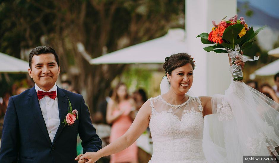 El matrimonio de Gino y Rossana en Lima, Lima