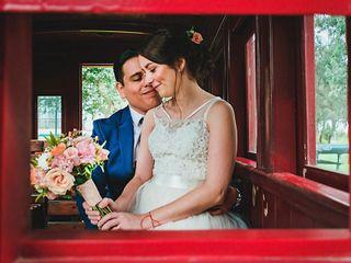 El matrimonio de Julliete y Carlos