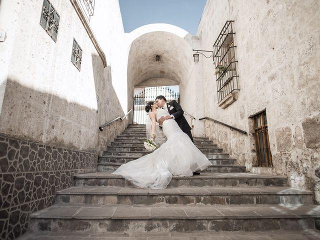 El matrimonio de Eva y Julio