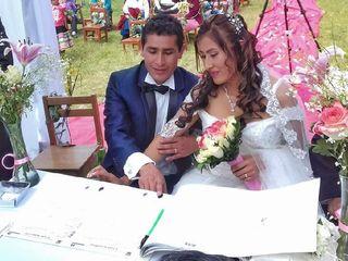 El matrimonio de Nicolás  y Marysabel