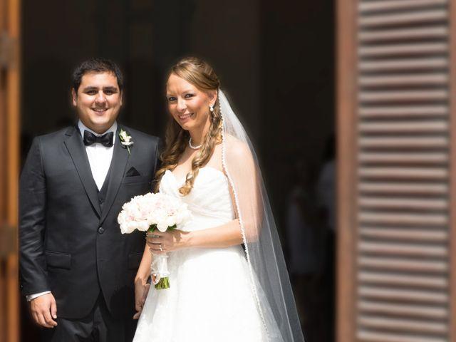 El matrimonio de Lindie y Giancarlo
