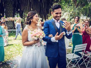 El matrimonio de Mónica y Víctor