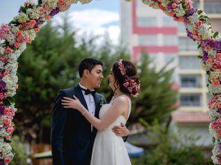 El matrimonio de Mariella y Yasser