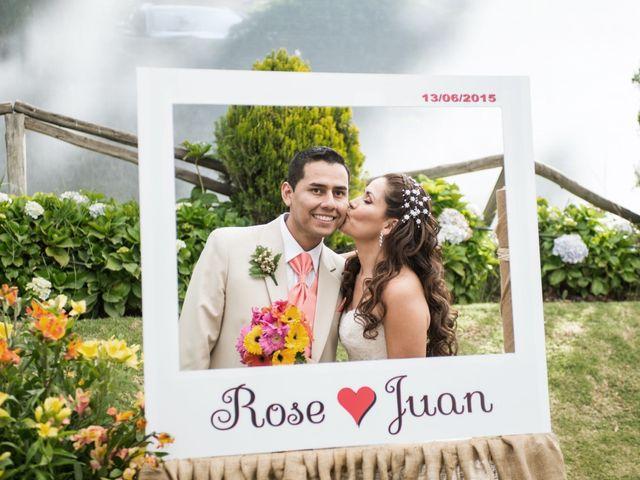 El matrimonio de Rosella y Juan
