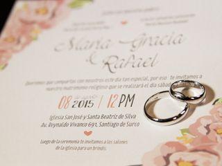 El matrimonio de Mariagracia y Rafael 1