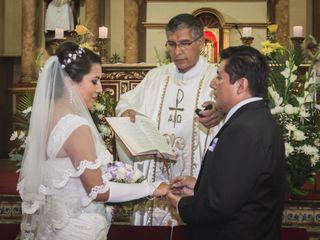 El matrimonio de MIlagros y Jorge