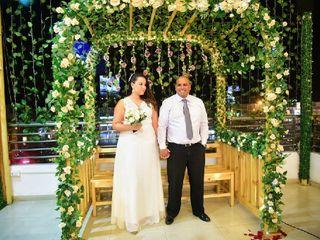 El matrimonio de Astrid y José