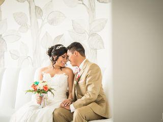El matrimonio de Mariana y Anthony