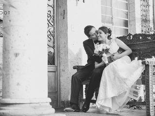 El matrimonio de Claudia y David