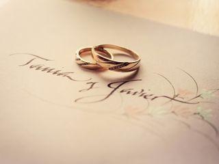 El matrimonio de Tania y Javier 1