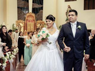 El matrimonio de Tania y Javier