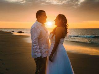 El matrimonio de Gisella y Julio