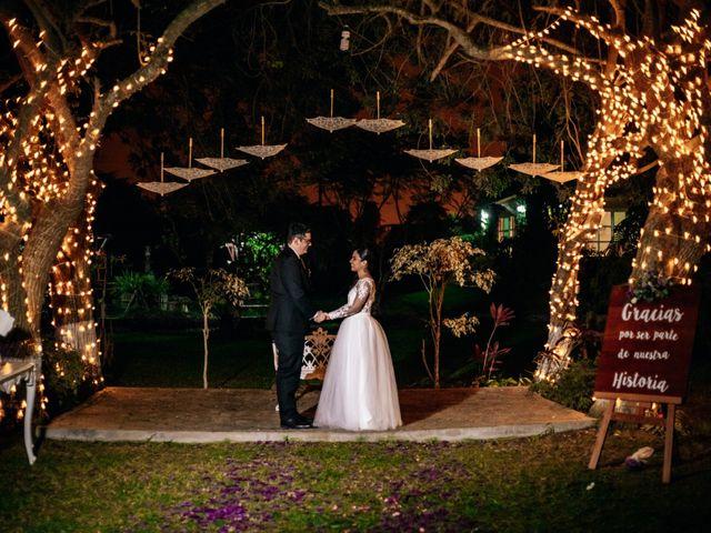 El matrimonio de Katya y Álvaro