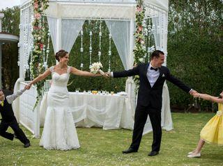El matrimonio de Katia y Rubén