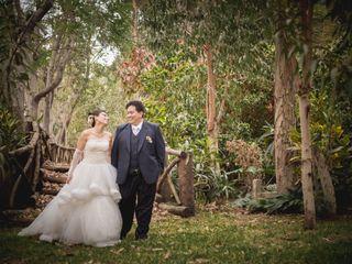 El matrimonio de Lucy y Renato
