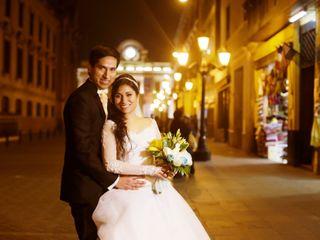 El matrimonio de Andrea y Ysaac