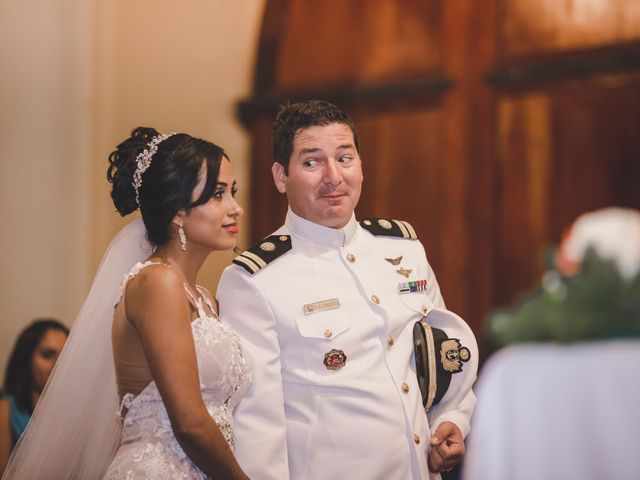 El matrimonio de Milagros y Franklin