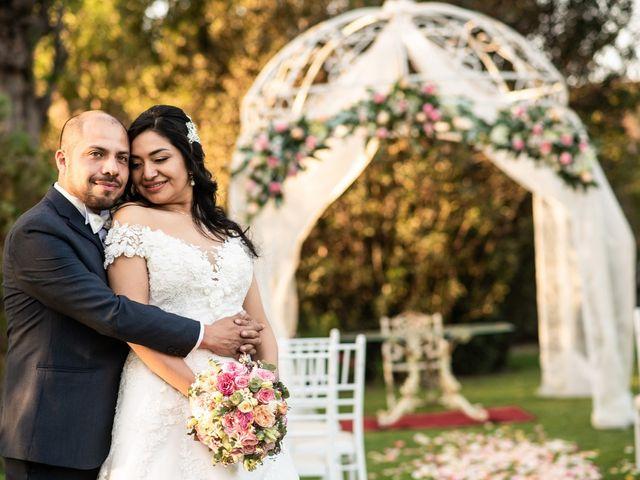 El matrimonio de Claudia y Roberto