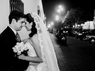 El matrimonio de Leslye y Ander