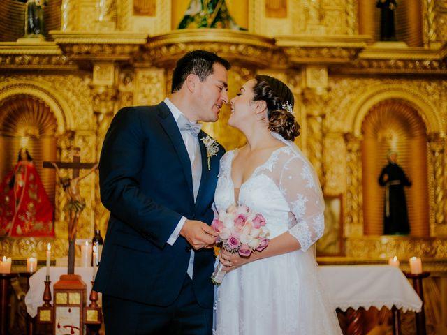 El matrimonio de Mónica y Ever