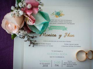 El matrimonio de Mónica y Jhon 1