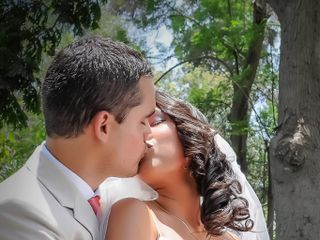 El matrimonio de Leslie y Roger 1