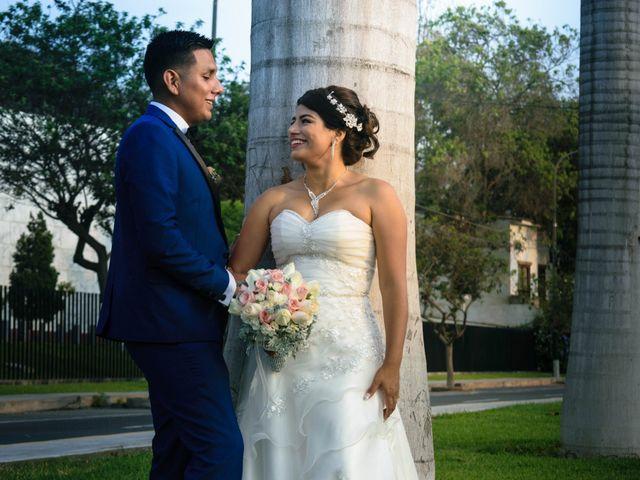 El matrimonio de Stheeycy y Juan Martín