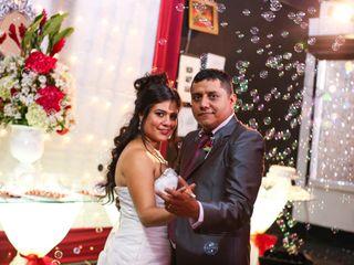 El matrimonio de Evelyne y Manuel