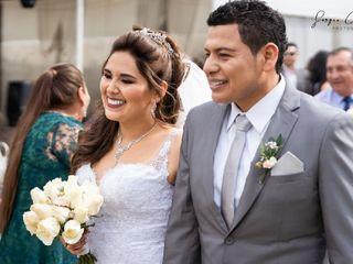El matrimonio de Verónica y Jim