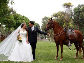El matrimonio de Juan Carlos y Diana Margoth