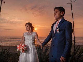 El matrimonio de Melina y Hans