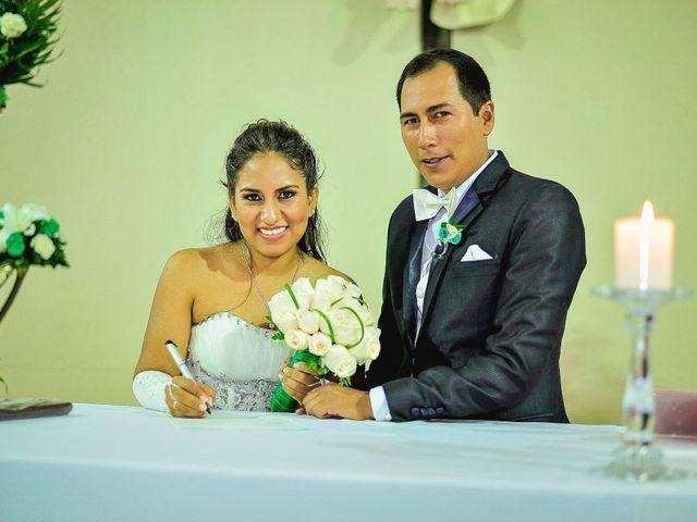 El matrimonio de Diana y Lino