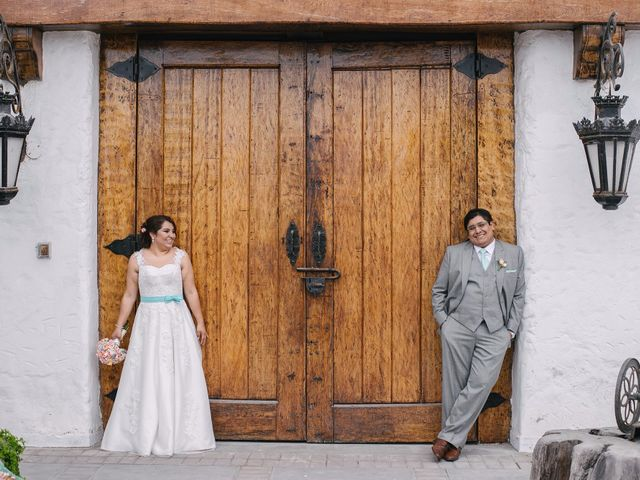 El matrimonio de Carla y Edgar