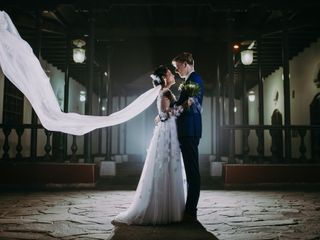 El matrimonio de Denisse y Sébastien