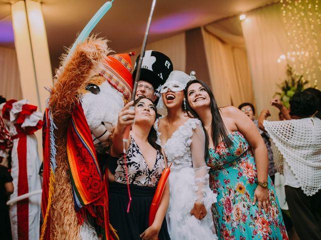 El matrimonio de Sébastien y Denisse en Lima, Lima 86