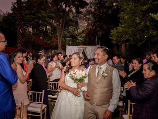 El matrimonio de Mónica y Rubén