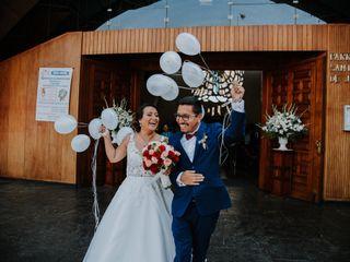 El matrimonio de Jaquelin y Hans