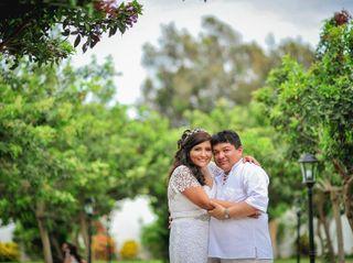 El matrimonio de Verónica y Fernando