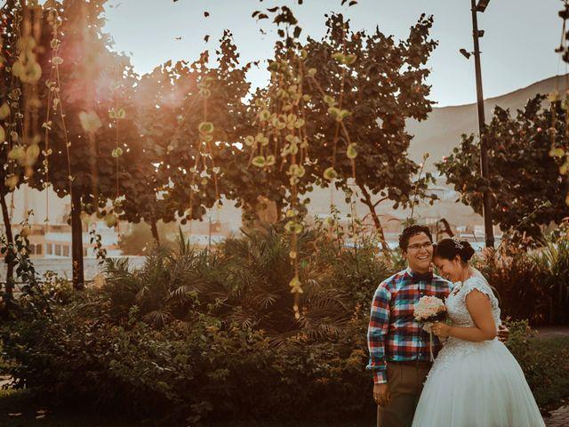 El matrimonio de Jaquelin y Israel