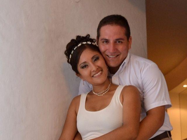El matrimonio de Verónica y Marcio