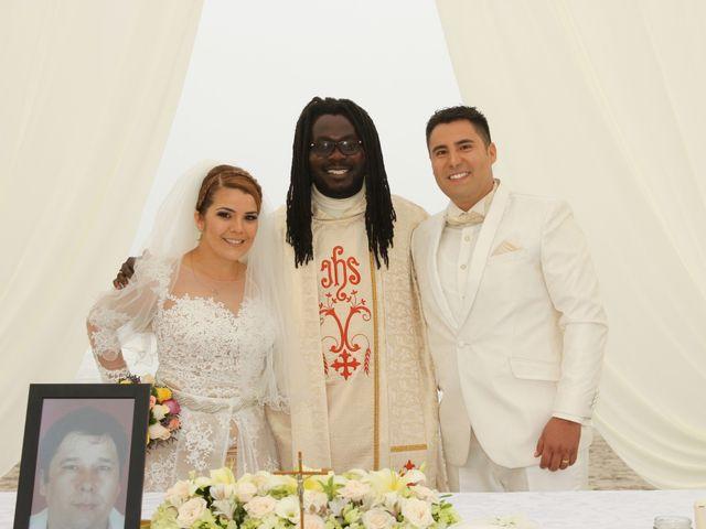 El matrimonio de Odra y Saulo