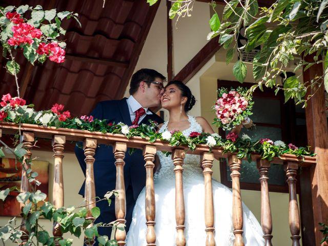 El matrimonio de Fabiola y Marco