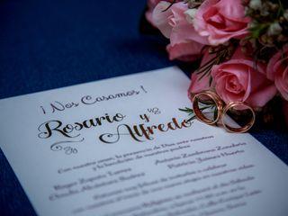 El matrimonio de Rosario y Alfredo 2